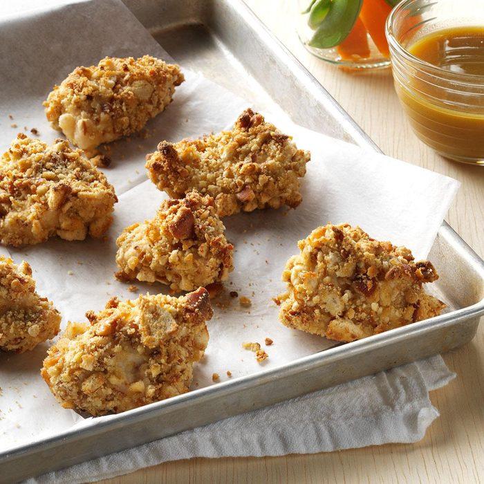 Friday: Pretzel-Coated Chicken Nuggets