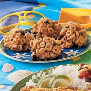 Butterscotch Cereal Bites