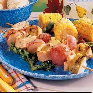 Tangy Turkey Kabobs