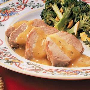 Orange Pork Tenderloin