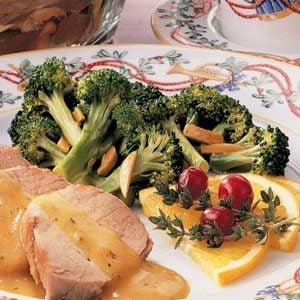 Savory Broccoli Spears