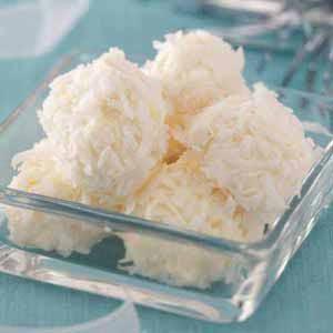 Pineapple Coconut Snowballs