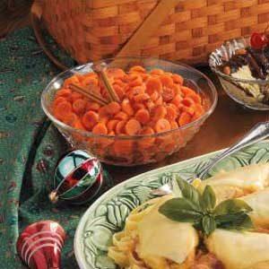 Cinnamon Carrots