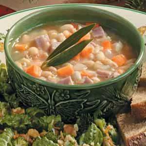 White Bean 'n' Ham Soup