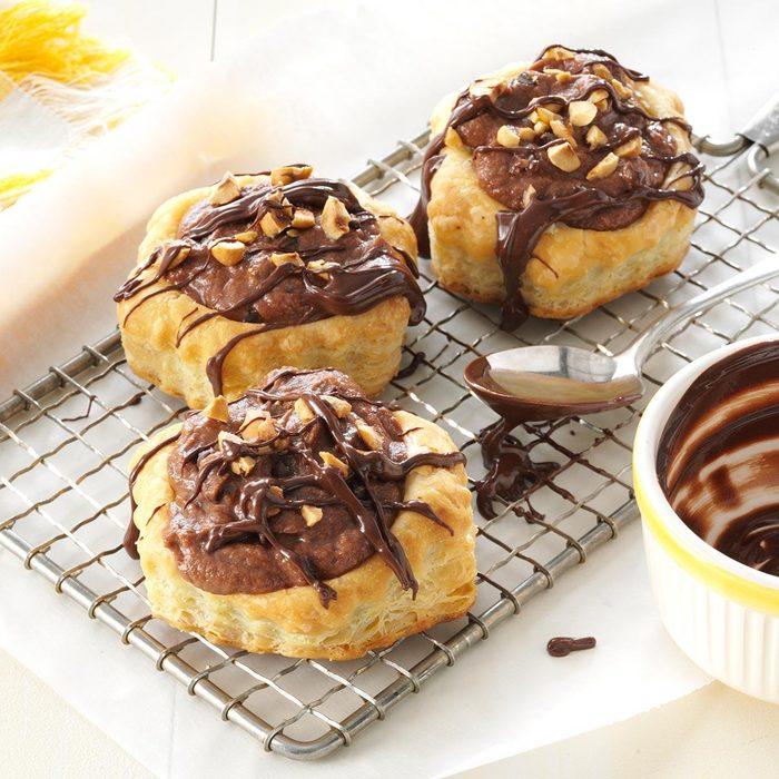 Chocolate Hazelnut Mousse Cups
