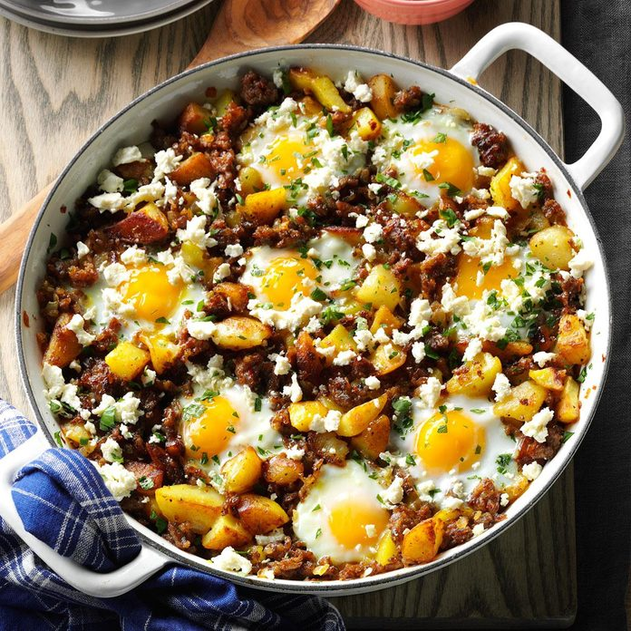 Brunch Hash & Egg Bake