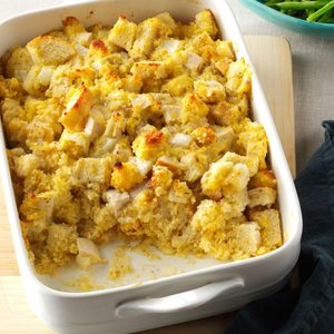 Cornbread Chicken Bake