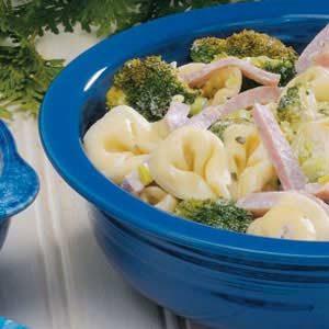 Hot Tortellini Salad