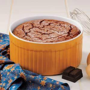 Rich Chocolate Souffle