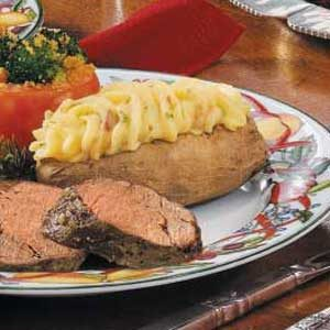 Special Twice-Baked Potatoes