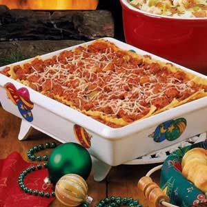 Christmas Night Lasagna