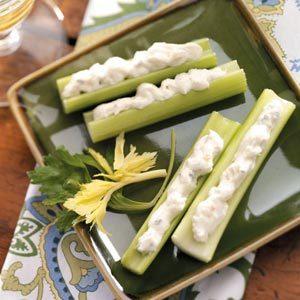 Crab-Stuffed Celery