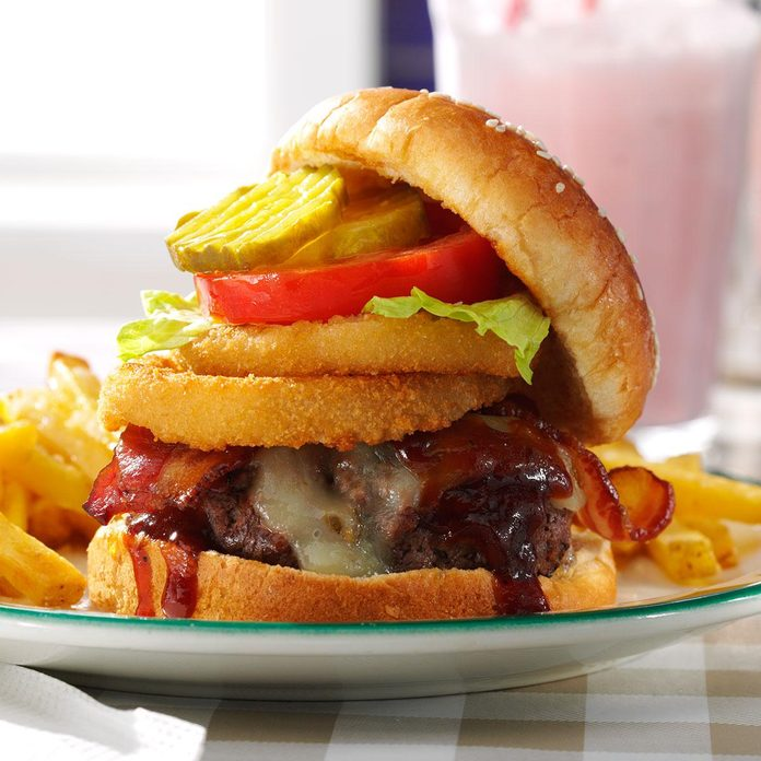 Inspired by: Hard Rock Café Original Legendary® Burger