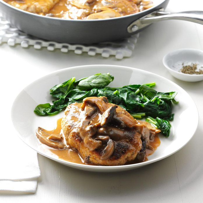 Day 28: Turkey Salisbury Steaks