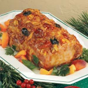 Glazed Holiday Pork Roast
