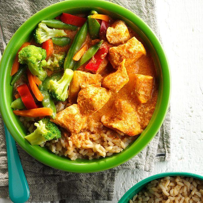 Thai Red Curry Chicken & Vegetables