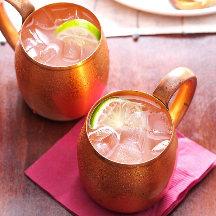 Inspired by: Olive Garden's Moscow Mule