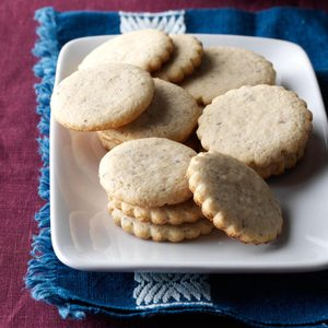 Walnut Sugar Cookies