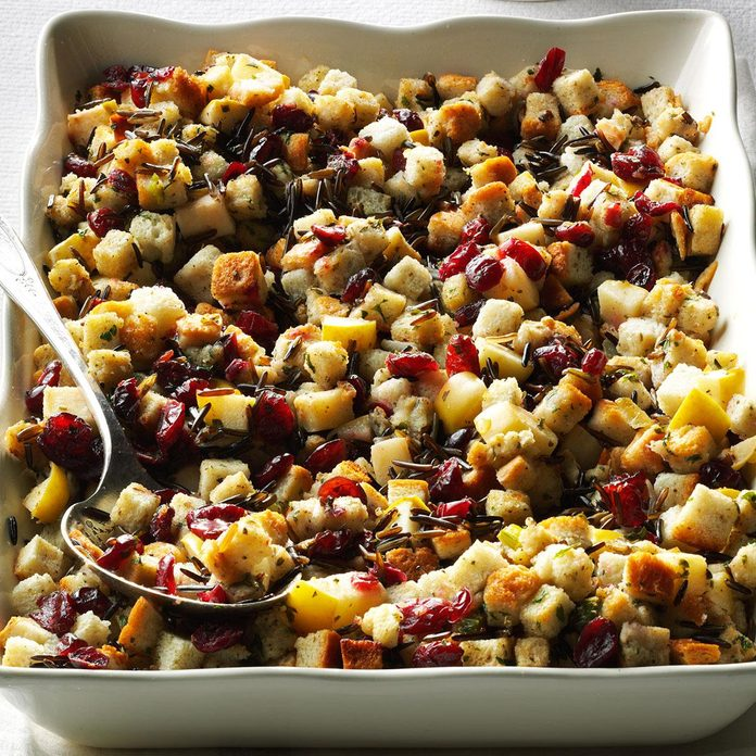 South Carolina: Apple-Cranberry Stuffing