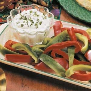 Herbed Cheesy Veggie Dip
