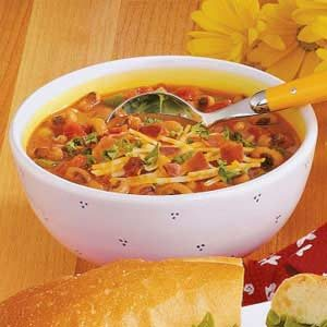 Black-Eyed Pea Soup with Ham