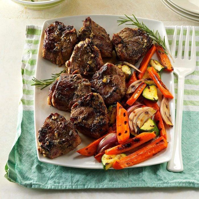 Rosemary-Thyme Lamb Chops