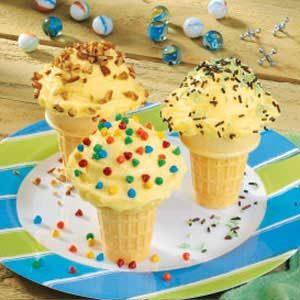 Puddin' Cones