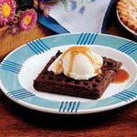 Chocolate Dessert Waffles