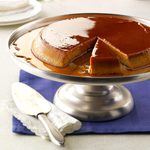 Cinnamon-Spiced Pumpkin Flan