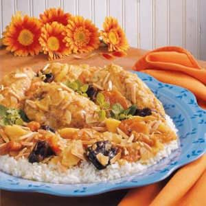 Fruited Chicken Curry