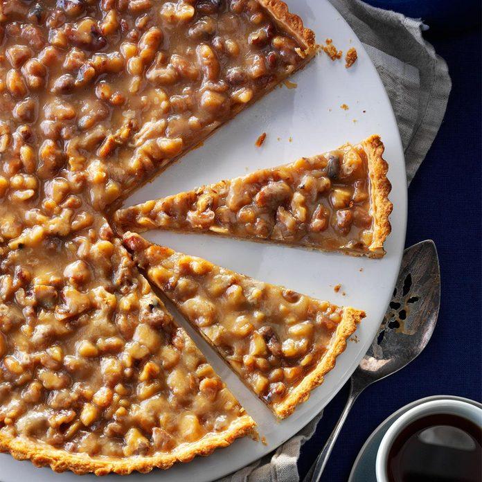 Walnut Toffee Tart