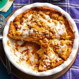 Cinnamon Swirl Apple Pie