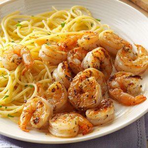 Grilled Lemon-Dill Shrimp