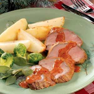 Beef Tenderloin with Potatoes