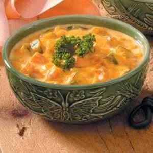 Carrot Zucchini Soup