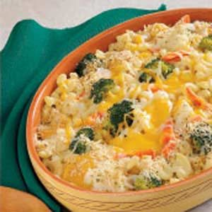 Cheesy Vegetable Medley