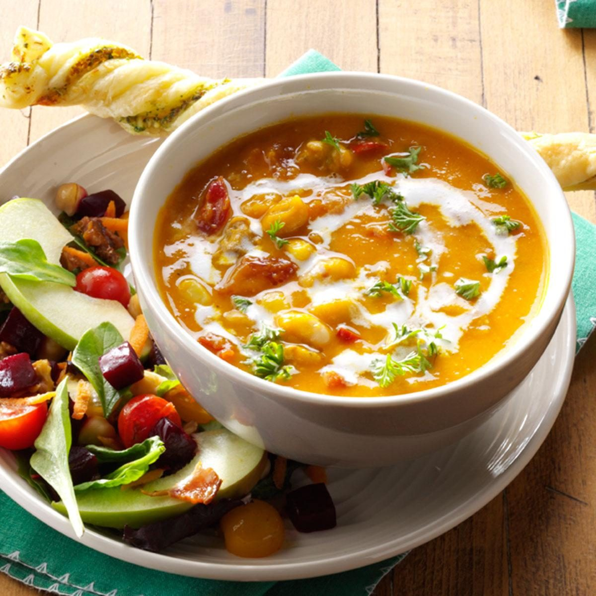 Day 12: Hearty Butternut Squash Soup