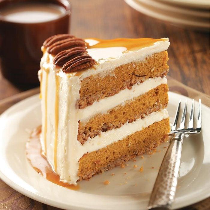 Pumpkin-Pecan Spice Cake