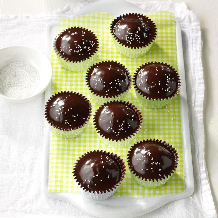 Chocolate-Glazed Cupcakes