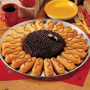 Sunflower Potluck Cake