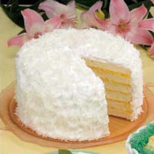 Six-Layer Coconut Cake