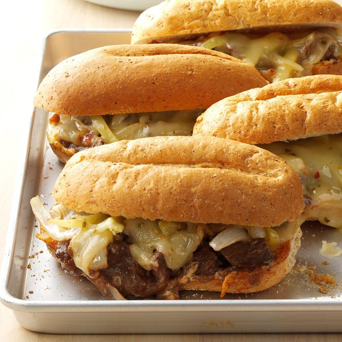 Make: Tex-Mex Cheesesteak Sandwiches