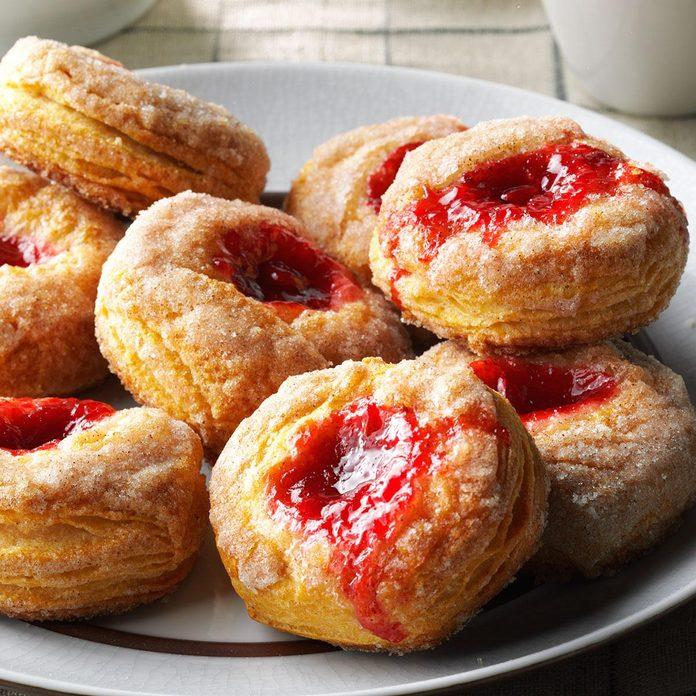 Saturday Breakfast: Cinnamon Fruit Biscuits