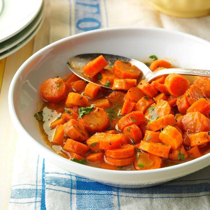 Chutney-Glazed Carrots