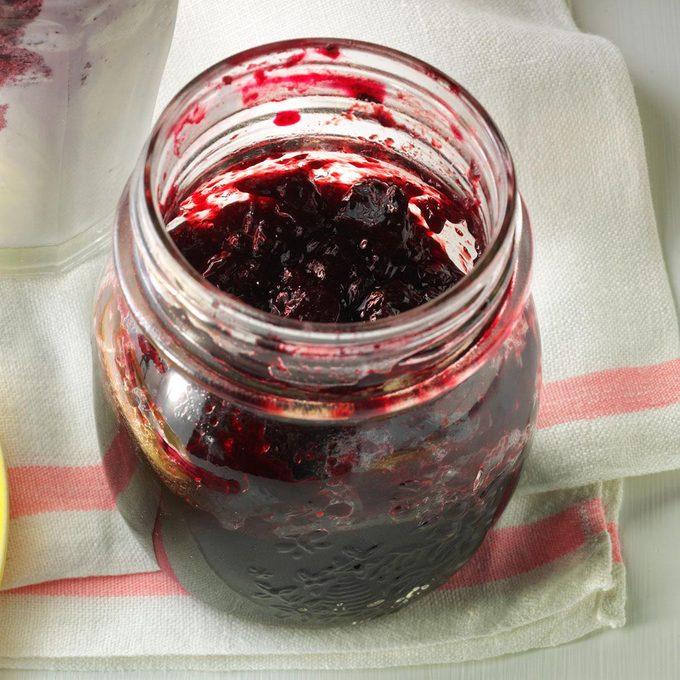 Honey Blueberry Cobbler Jam