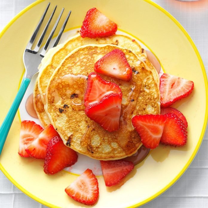 Inspired by: Strawberry Pancakes