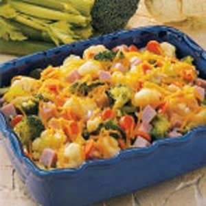 Colorful Cheesy Vegetable Medley