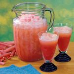 Rhubarb Slush Punch