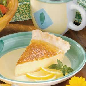 Silky Lemon Pie