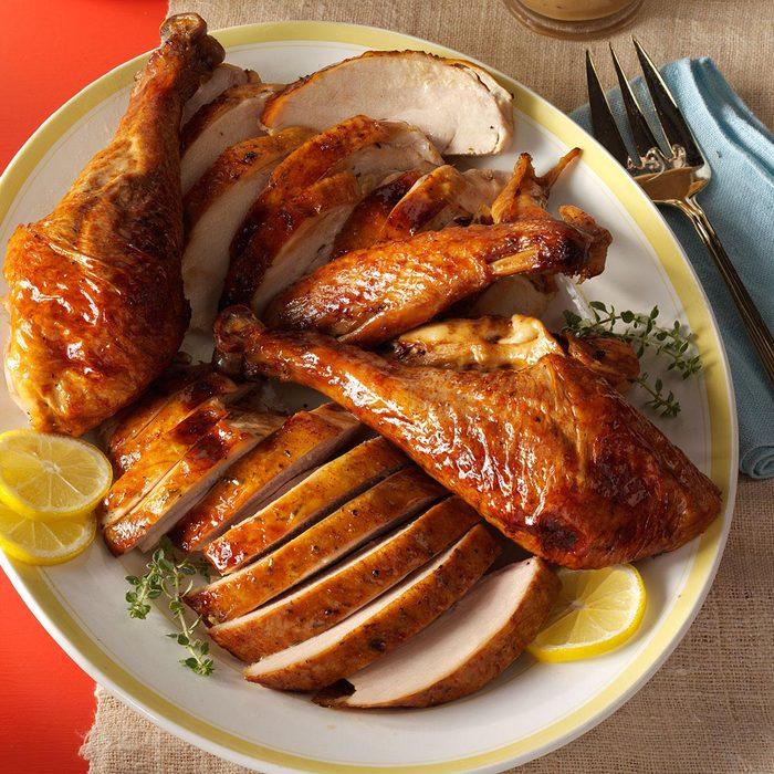 Honey-Citrus Glazed Turkey